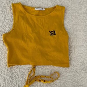 BETTER BODIES CROP TOP SIZE SMALL